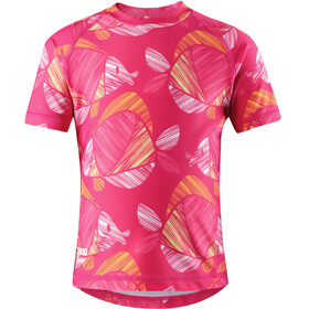 Reima Kids Ionian Swim Shirts Candy Pink